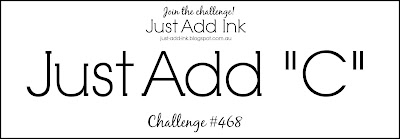 Jo's Stamping Spot - Just Add Ink Challenge #468