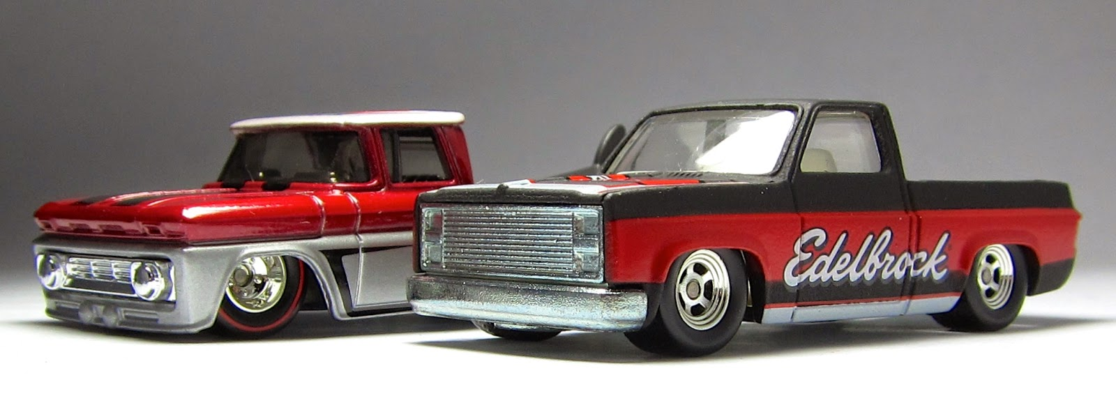 bb7d38f1c7 Best Motorcycle 2014: Cool is Cool is Cool: Hot Wheels Slick Rides '83  Silverado & Custom '62 Chevy Pickups.