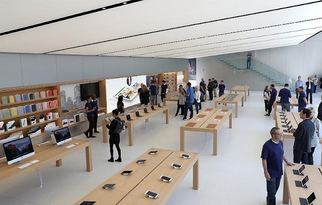 Comprar relógios GPS para correr na Apple Store na Califórnia