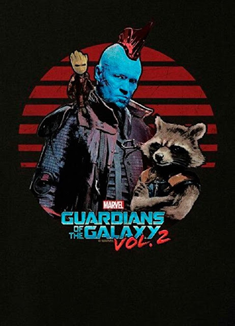Yondu, Rocket y Groot de Guardians of the Galaxy 2