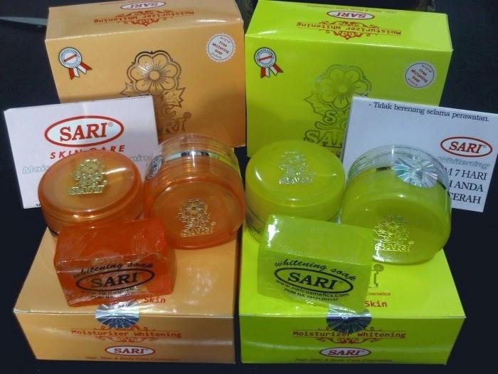 CREAM SARI 100% ASLI (Old Pack)