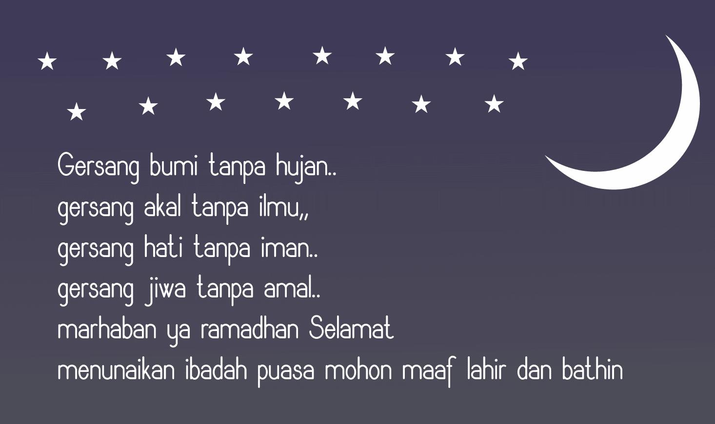 Kalimat Mutiara Ucapan Maaf Menjelang Puasa Ramadhan