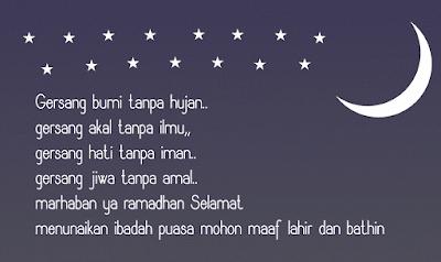 Kalimat Mutiara Ucapan Maaf Menjelang Puasa Ramadhan Gambar