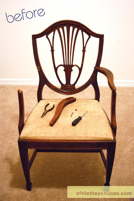 como reformar cadeira