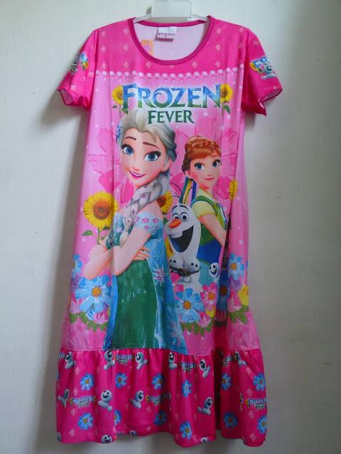 Model Baju Tidur Anak Frozen Tanah Abang Terbaru 2016