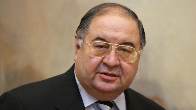 Российский миллиардер, основатель USM Holdings Алишер Усманов
