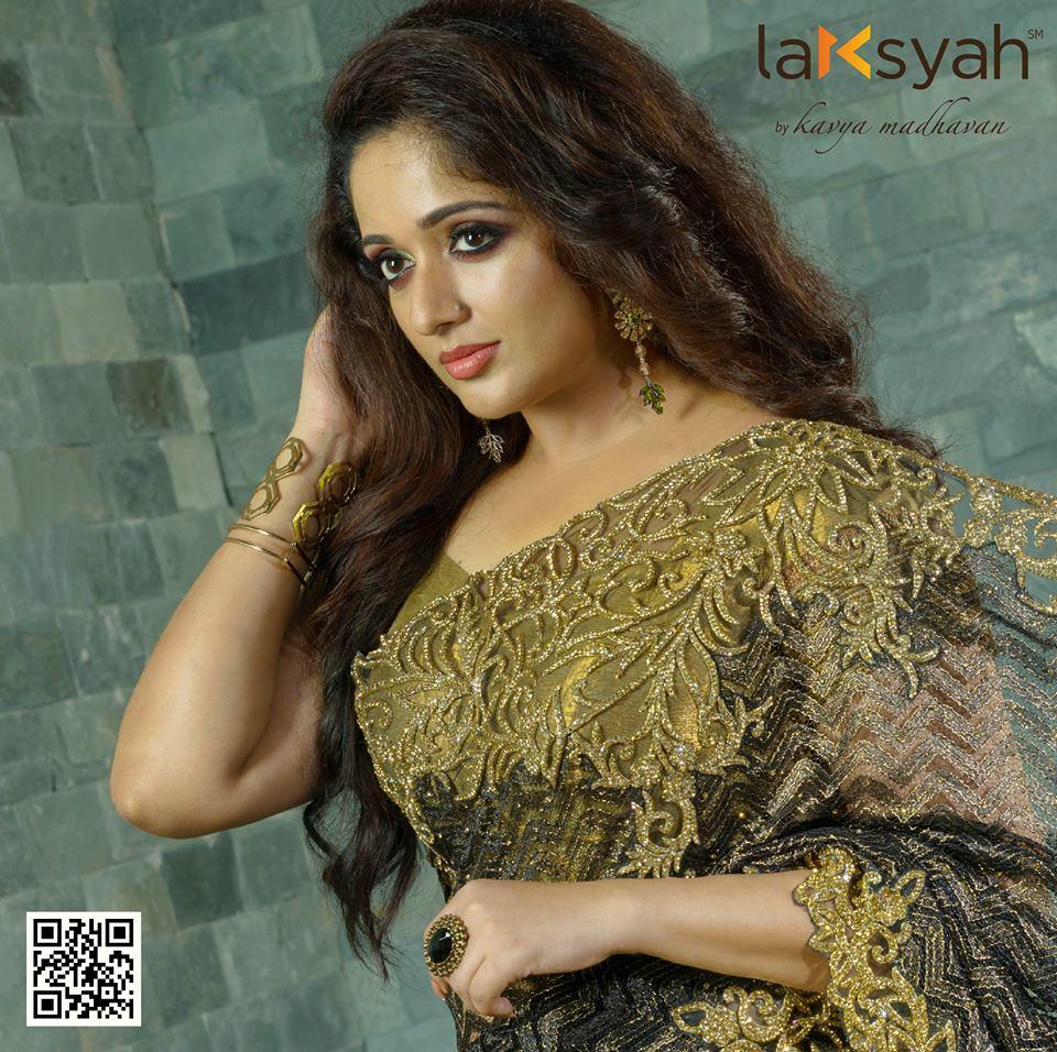 Kavya Madhavan Latest Hot Photos In Saree - Spicy Actress-8465