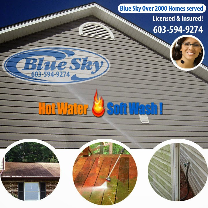 Blue Sky Hot Water Washing Your Residential property in Groton