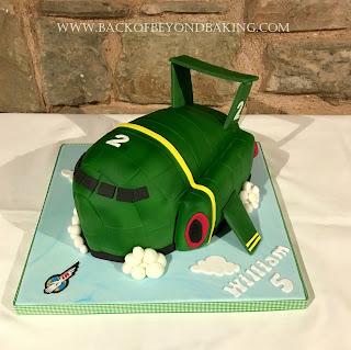 thuderbirds 3d cake