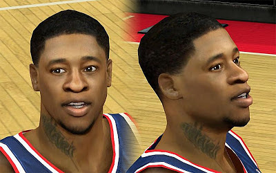 NBA 2K13 Cartier Martin Cyberface Patch