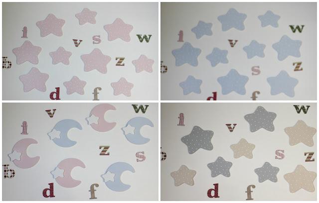 complementos-decoración-infantil-siluetas-estrellas-mariposa