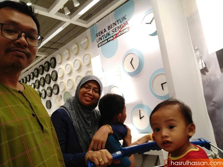 Shopping perabot di Ikea Batu Kawan