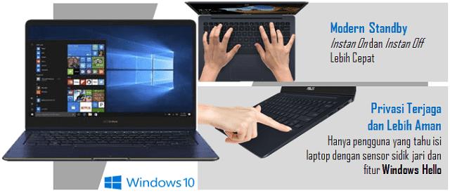 ASUS Zenbook UX331UAL Windows 10