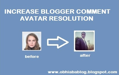 Increase Blogger Comments Avatar Resolution
