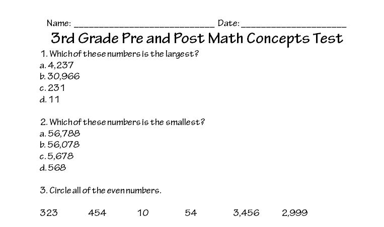 Worksheet #10001294: Math Test Worksheets – Times Table Tests 2 3 ...