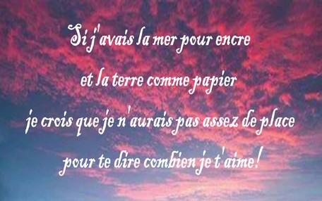 Poème Amour Poésie Et Citations 2019 Exemple De Message