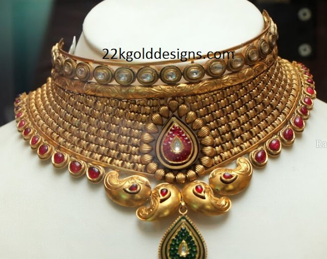 Reliance Jewels Bridal Gold Necklace