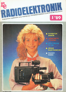 Okładka Radioelektronik 1/89