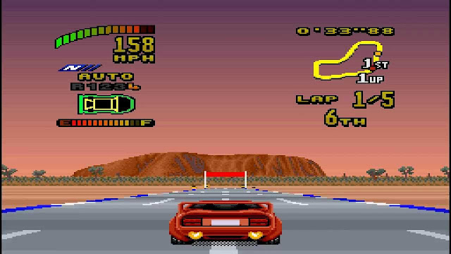 Top Gear 2 Mega Drive