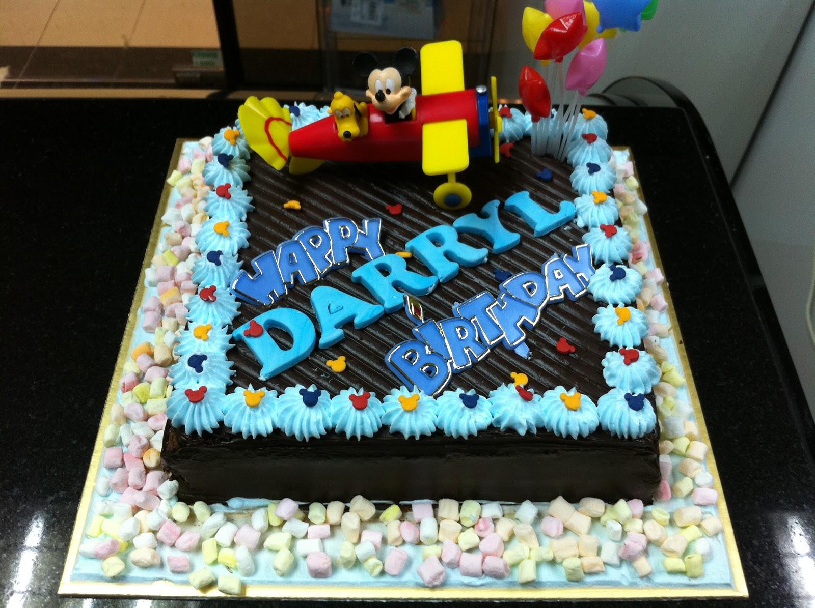Haven Bakery Darryl Mickey Theme Birthday Cake