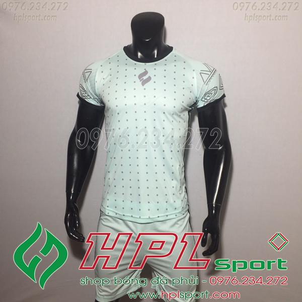 Áo bóng đá không logo Egan HQN Ala Màu Xanh Nhạt