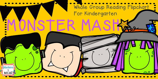 http://www.teacherspayteachers.com/Product/Monster-Mash-Whole-Group-Flipchart-for-Kindergarten-1495671