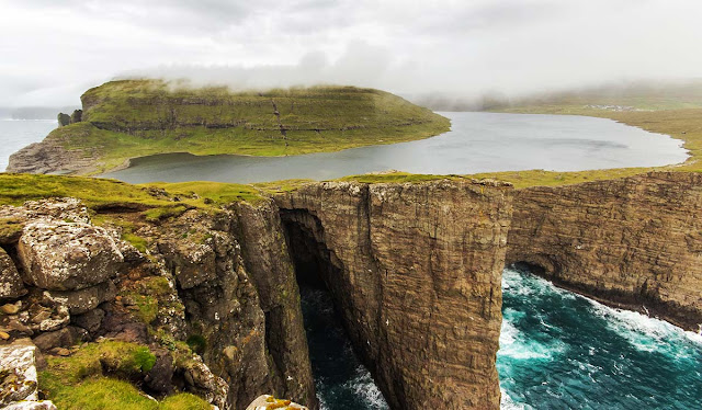 Leitisvatn lake - Faroe Islands