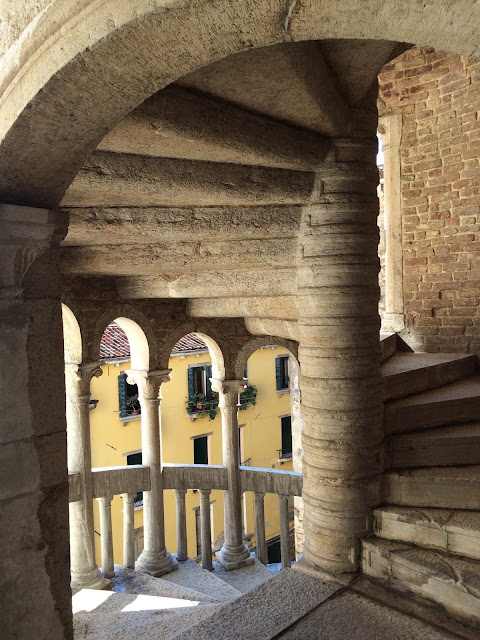 Spiral Staircase Venice Italy
