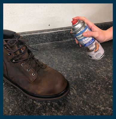 Protect Footwear From Rain & Stains