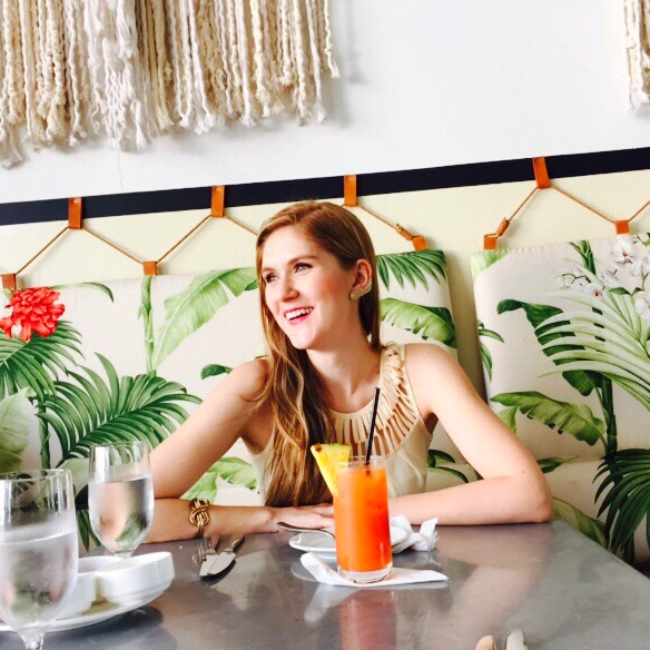 Lunch at the American Trade Hotel in Casco Viejo, Panama
