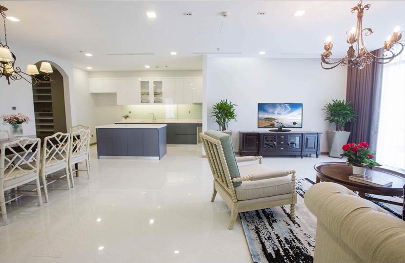 Cho thuê Penthouse 4 phòng ngủ tại tòa nhà Park 2 Vinhomes Bình Thạnh