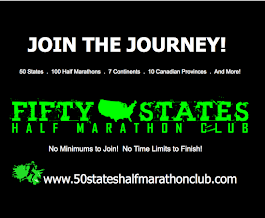 Half Marathon or Marathon in All 50 States