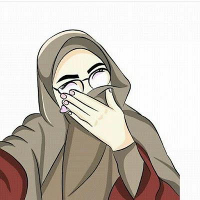 DP BBM Muslimah Bercadar Senyum