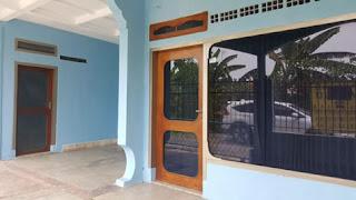 Tampak samping Rumah di Jl. Ontoseno VII No. 49 Malang