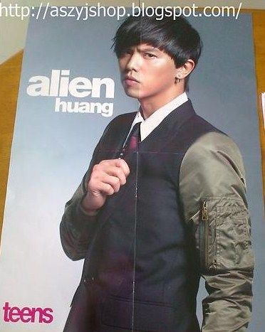 Starmerchandises Alien Huang 小鬼 黃鴻升 One Direction Poster