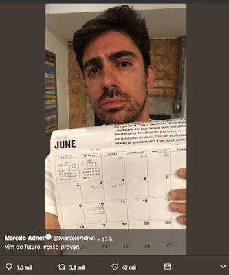 Marcelo Adnet ironizando Moro