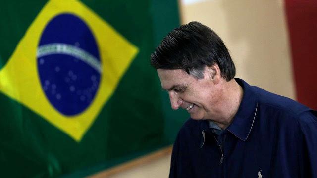Brasil se irá a segunda vuelta presidencial con Bolsonaro como favorito