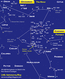 Constellation map of Eridanus and Fornax. Click to see the image's original size.