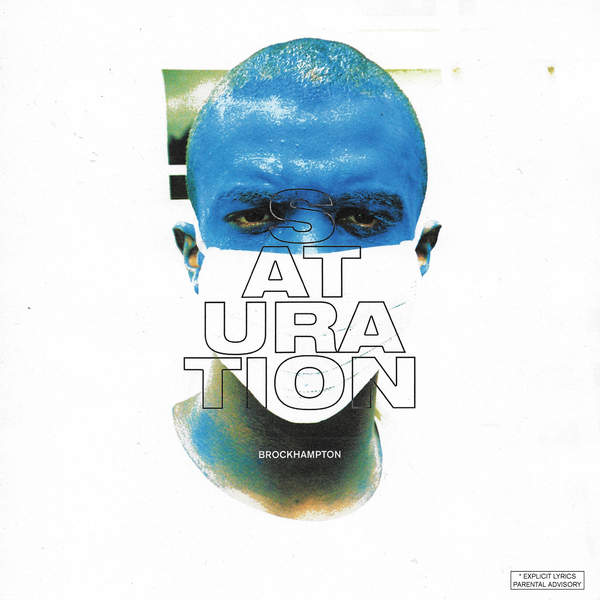 BROCKHAMPTON - Saturation Cover