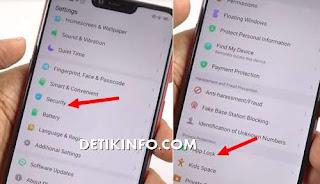 menu kunci aplikasi android realme