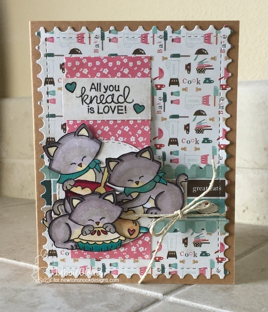All you knead is love by Debbie features Made from Scratch, Newton's Kitchen, Newton's Thanksgiving, and Framework by Newton's Nook Designs; #newtonsnook