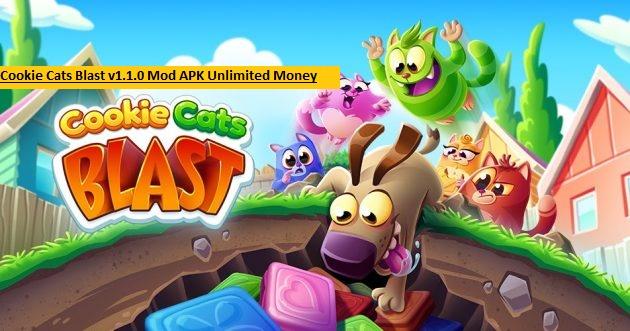 Cookie Cats Blast v1.1.0 Mod APK Unlimited Money