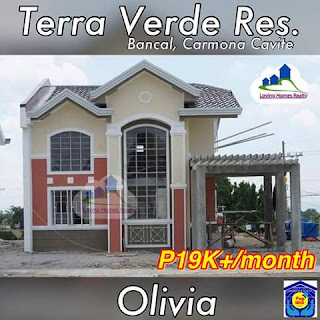 OLIVIA SINGLE ATTACHED - TERRAVERDE RESIDENCES AFFORDABLE HOUSE AND LOT SALE RENT TO OWN CAVITE