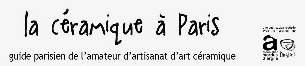 La céramique à Paris