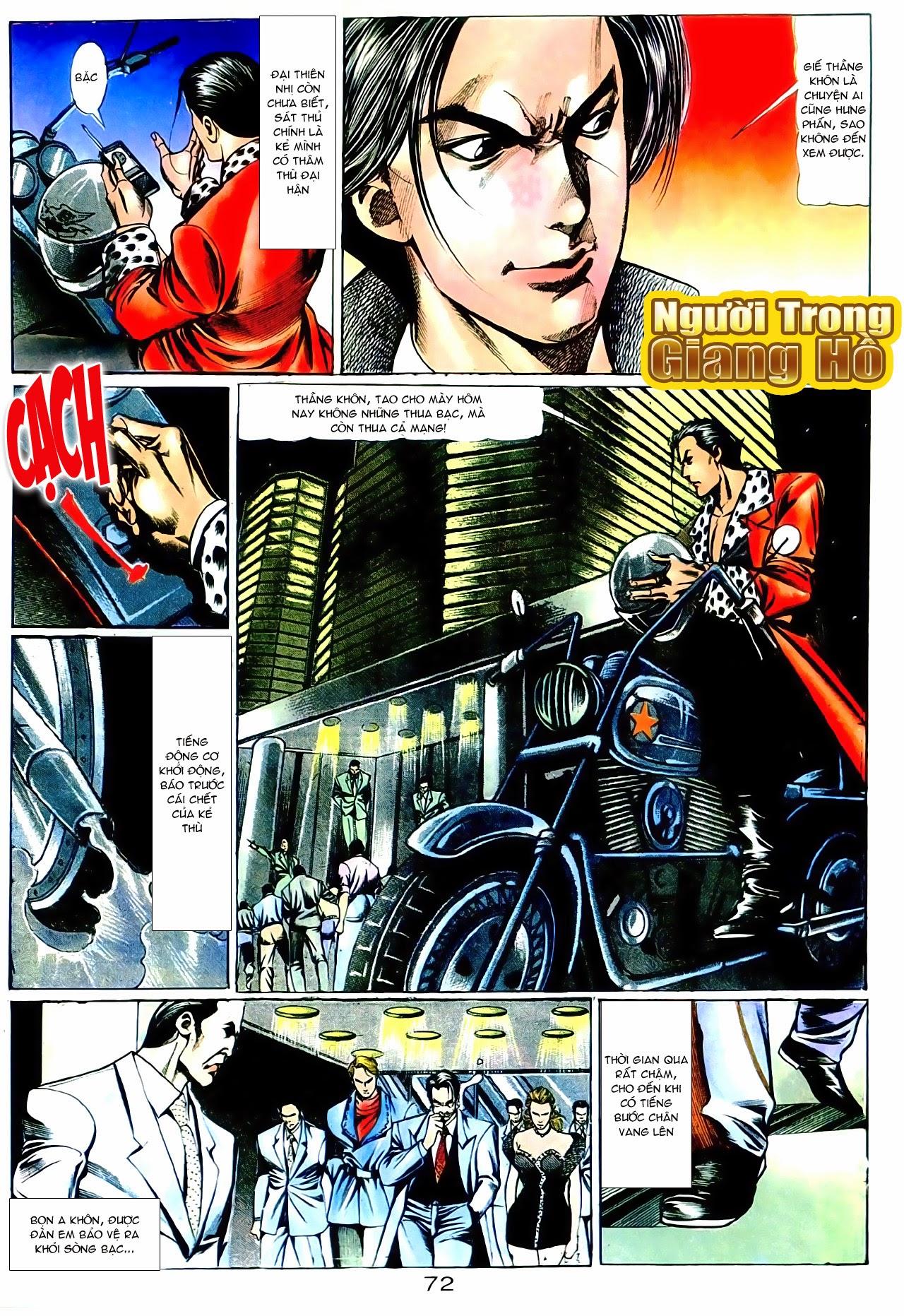 Người Trong Giang Hồ chapter 101: vô địch100% trang 26