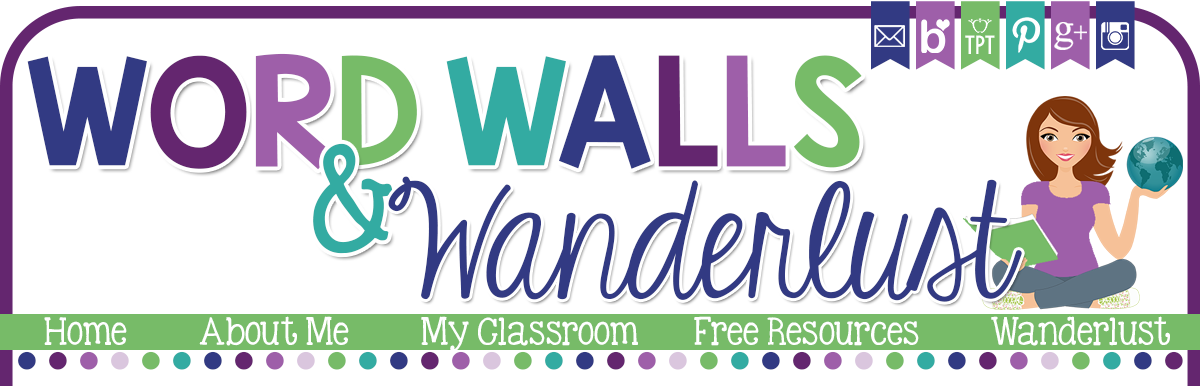 Word Walls and Wanderlust