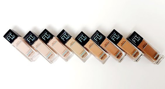 Review: Maybelline FIT Me Foundation
