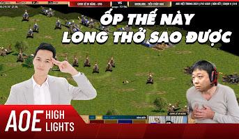 AoE Highlight | Shenlong không thể thở nổi khi đọ sức với Chim Sẻ