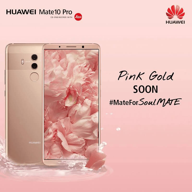 Huawei Mate 10 Pro Pink Gold Variant Announced; Set to Arrive in PH on Feb 10