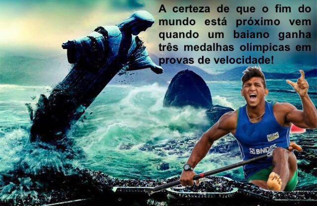 O maior legado dos Jogos Olímpicos do Rio foi a descoberta de um baiano veloz